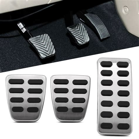 Pedal Gas Manual 1 automatic manual stainless steel gas brake pedal cover for hyundai ix25 accent brio verna