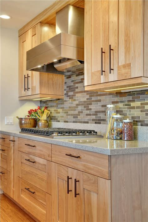 red birch kitchen cabinets kitchen red birch cabinets quartz live wood edge
