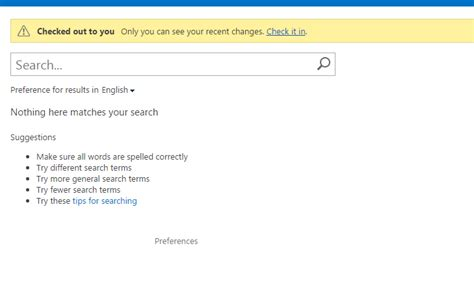 Lookup Email Addresses Results Search Results Web Part Is Not Showing Any Results