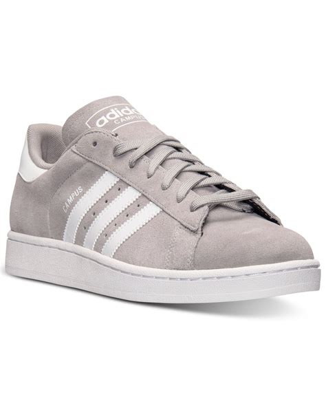 adidas s cus casual sneakers from finish line in gray for solid grey white lyst
