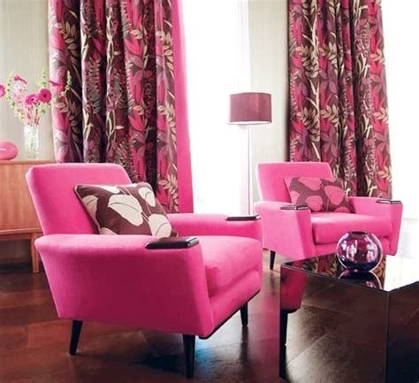 the midas touch for home decor hot pink wellingtons pink living room pink decor living room interior design