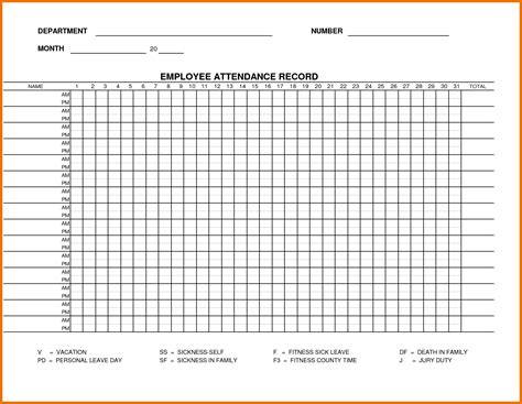 attendance register template search results for attendance register template
