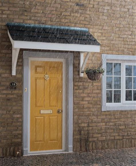 Front Door Canopy Kits Simple Flat Roof Porch Canopy Porch Canopy Kits The Home Porch Porch Canopy