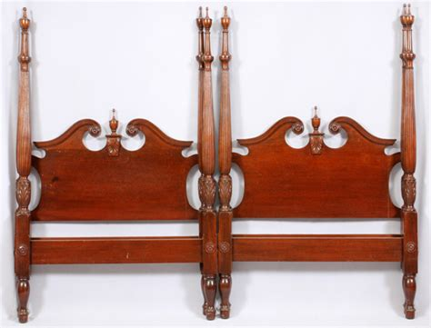 queen anne headboard queen anne style mahogany headboards and footboards