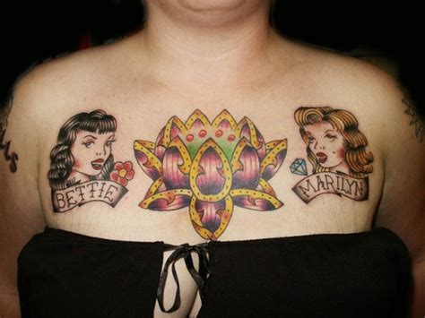 chest piece tattoos female 30 eye refreshing chest tattoos ideas wpjuices