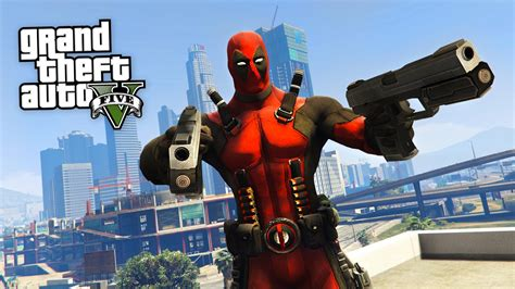 mod gta 5 deadpool deadpool gta 5 mods youtube