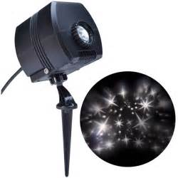 gemmy led lights gemmy pixie dust led projection spotlight white lowe