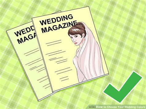 how to choose wedding colors 3 ways to choose your wedding colors wikihow