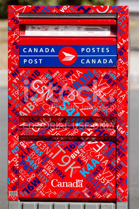 Canada Post Search Canada Post Letter Box With New Design Stock Photos Freeimages