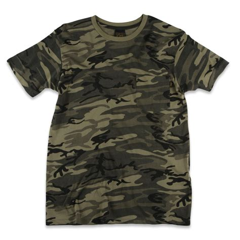 Camo Shirts Obey Clothing Camo Pocket T Shirt Evo Outlet