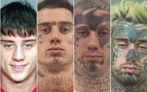 Kaos Friday Killer New florida s tattooed mugshots stun the