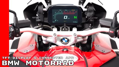 bmw motorrad connectivity tft display connected app