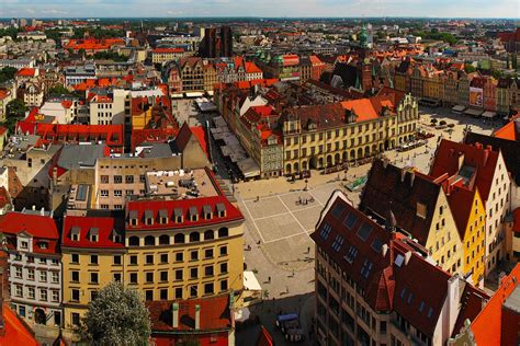 Pictures Of Small Houses Poland Houses Wroclaw Street Cities Wallpaper 2700x1800