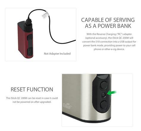 resetting eleaf battery 200w eleaf istick qc mod 5000mah бокс мод с тк tcr power