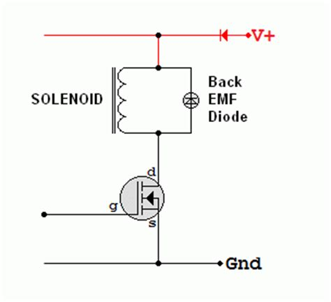 inductor back emf protection back emf diode 28 images בחירת דיודה איך בוחרים דיודה what is back emf and what does it do