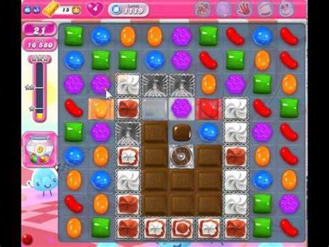 candy crush saga level 1119 no booster youtube