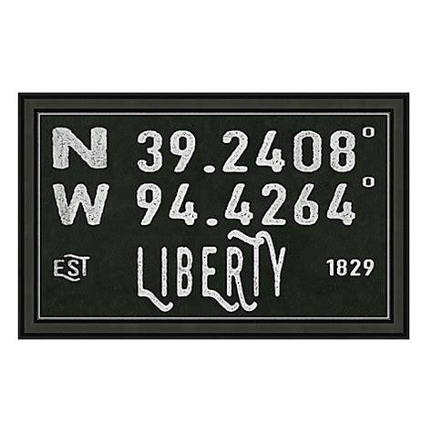 bed bath and beyond liberty mo liberty missouri coordinates framed wall art bed bath