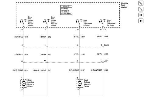 silverado power seat wiring diagram
