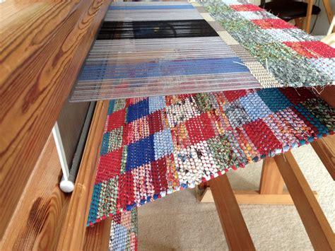 rug loom rag rug loom tutorial rugs ideas