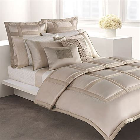 dkny bedding dkny lexington mini comforter set taupe bed bath beyond