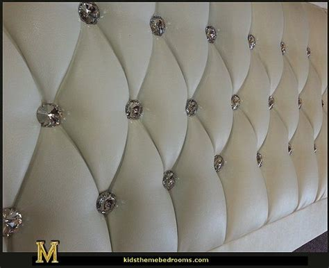 Tufted Rhinestone Headboard by Rhinestone Tufted Headboard A Sparkle Makes