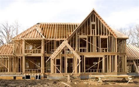 House Frame | custom home archives d e n j inc