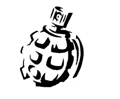 spray paint grenade gvnmt civil service