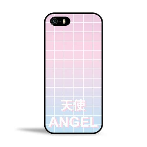 angel pastel aesthetic grid case for from pm cases things i