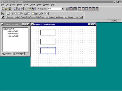 form design in java applet learn visual cafe visual cafe keypressmanagerpanel