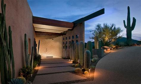 parched desert landscaping ideas home design lover