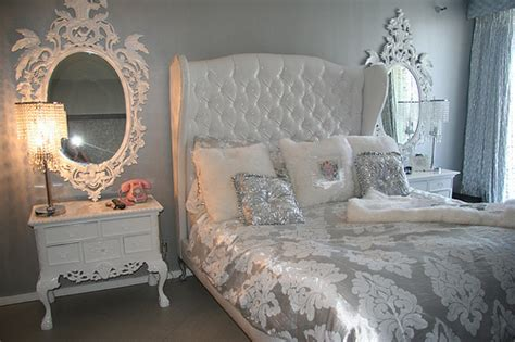silver bedrooms bedroom cute room silver image 400922 on favim com
