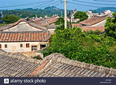taiwan house kinmen fujian southern chinese traditional house architecture stock photo royalty free image