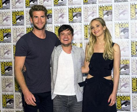 Hunger Games: Mockingjay: Jennifer Lawrence stands tall in ... Liam Hemsworth The Hunger Games Character