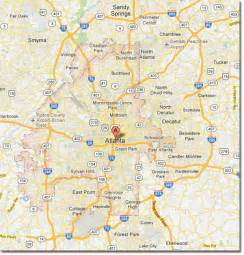 Map Of Atlanta by Map Of Atlanta Related Keywords Amp Suggestions Map Of