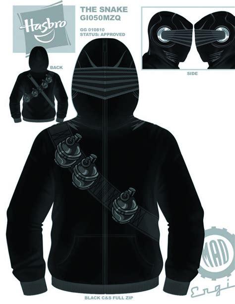 gi joe storm shadow costume hoodie superherostuffcom apr128137 gi joe snake eyes costume hoodie sm previews