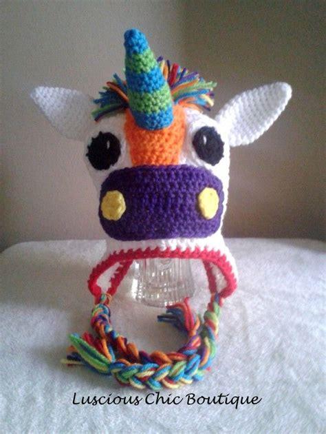 crochet pattern unicorn hat crochet unicorn hat crochet patterns pinterest