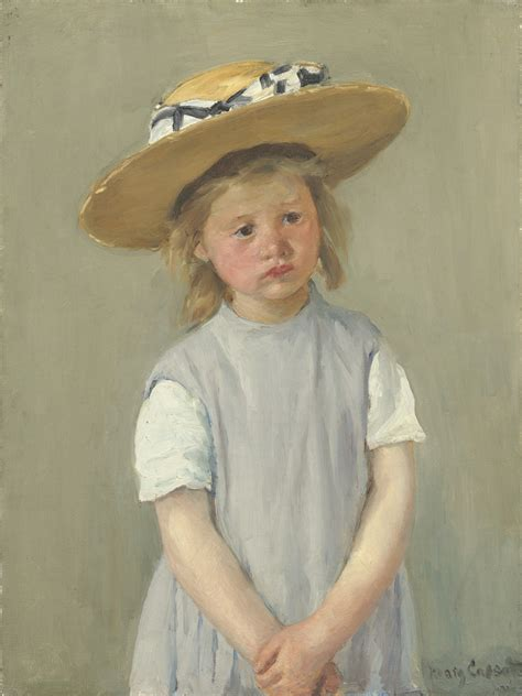 biography of mary cassatt artist mary cassatt child in a straw hat ca 1886 artsy