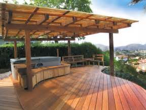 how to build a wood patio