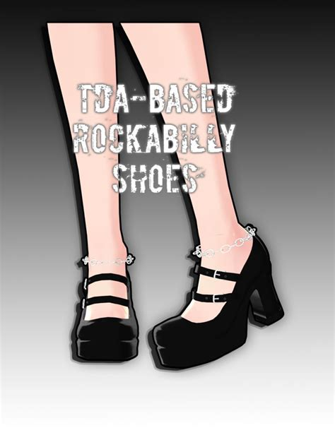 Heels Dl 27 tda based rockabilly shoes by kodd84 on deviantart