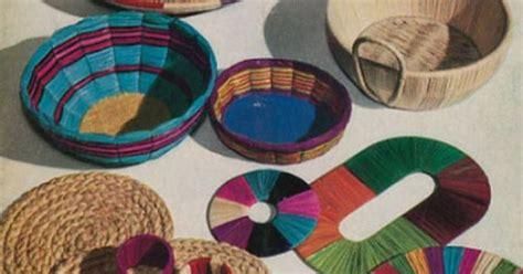 raffia crafts projects raffia craft basics how to make a simple raffia mat