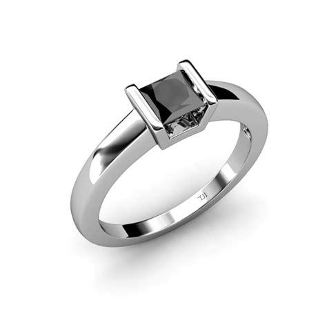 izna black diamond solitaire ring black diamond princess
