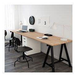 ikea arbeitszimmer tisch tisch gerton buche schwarz wei 223 wohn hacks