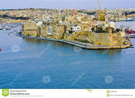 porto la valletta malta grande porto di la valletta malta immagini stock