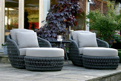 designer patio furniture rope garden furniture bau outdoors
