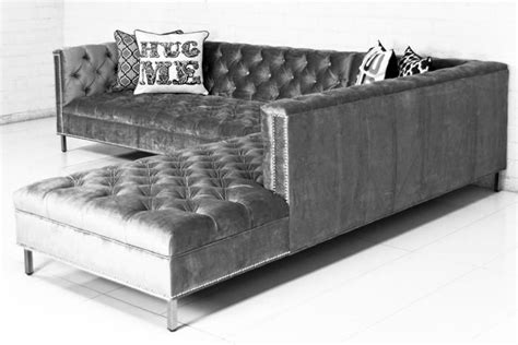 cocina brussels hollywood sectional in brussels charcoal by modshop tv