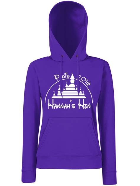 magical hen party personalised hoodie hen party superstore