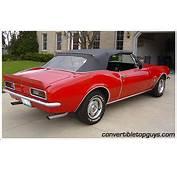 1967 69 Chevrolet Camaro Convertible Tops And