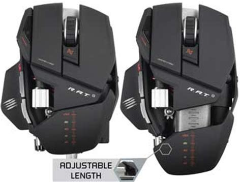 Mad Catz Pc Mcz R A T 9 Mouse mad catz r a t 9 gaming mouse for pc and mac
