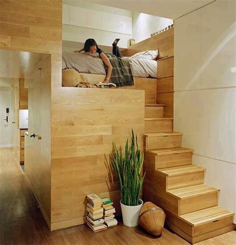loft bed storage stairs cool ideas for your bedrooms awesome beds and