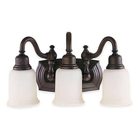 bathroom vanity light fixtures oil rubbed bronze buy feiss 174 canterbury 3 light bath vanity fixture in oil